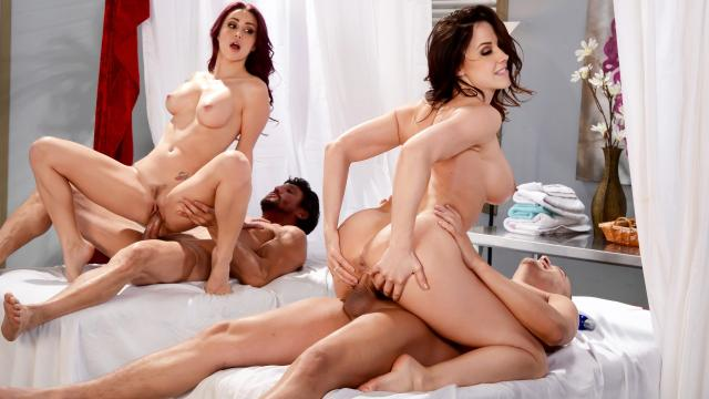 (Brazzers Exxtra / Brazzers) Best Of Brazzers: Massage Mania [Monique Alexander, Cali Carter, Chanel Preston, Nat Turnher, Lisa Ann... / 2020-06-29]