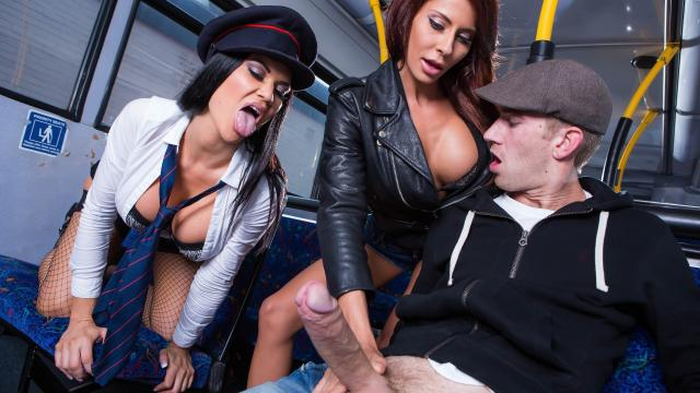 (Brazzers Exxtra / Brazzers) Tour Of London Part One: Remastered [Madison Ivy, Jasmine Jae, Danny D / 2020-07-03]