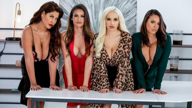 Office 4-Play: Latina Edition [Bridgette B, Luna Star, Keiran Lee, Victoria June, Katana Kombat / 28.11.2019]