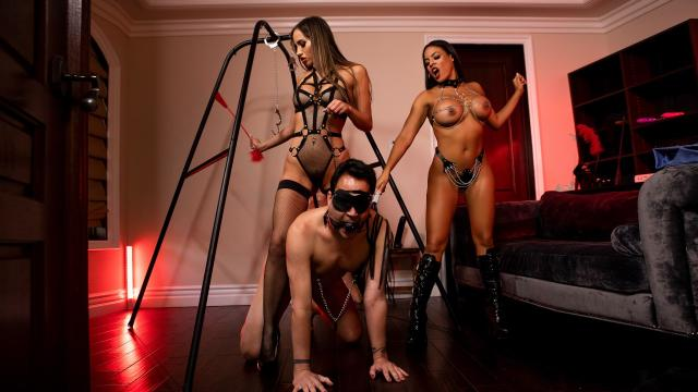 The Dommes Next Door: Double Dommed [Luna Star, Keiran Lee, Desiree Dulce / 08.01.2020]