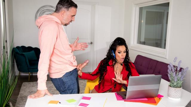 (Real Wife Stories / Brazzers) Fuck Me, My Meeting! [Luna Star, Keiran Lee / 2020-12-08]