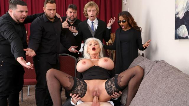 (Brazzers Exxtra / Brazzers) Burying The Dick 10 Inch Deep [Sally D'Angelo, Jimmy Michaels / 2021-03-23]